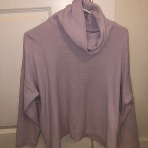 Aerie sweater cowl neck